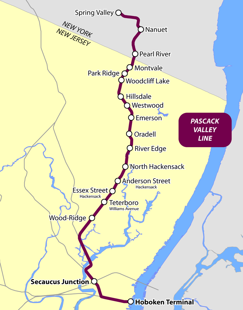Pascack Valley Line Trip | ERA Regional Trips